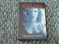 THE HUMAN STAIN 2003 DVD Anthony Hopkins NICOLE KIDMAN