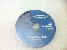 Original Vmax Fitness Whole Body Vibration WBV Exercise DVD Instructional Video
