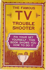 THE FAMOUS TV TROUBLE SHOOTER by John Gardner (1953) Authentic 68-page softcover