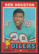 1971 Topps #113 Ken Houston HOF RC Houston Oilers Rookie Football Card