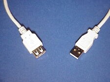 USB 2.0 A Male to A Female Extension Cable, 6 Feet -ISO certified manufacturer