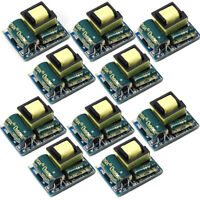 10Pcs AC-DC 220V to 12V Step Down Power Supply Module 300mA Buck Isolated Switch