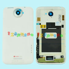 REAR BACK COVER CASE BATTERY DOOR HOUSING FOR HTC ONE X S720e G23 WHITE