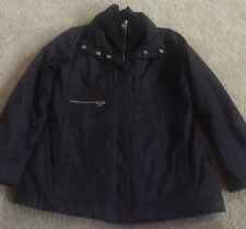 Women's Large Michael Kors Black Winter Full Zip Jacket