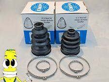 EMPI Inner & Outer CV Axle Boot Kit for Kawasaki BAYOU 400 1993-1999 4x4