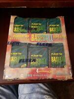 1995 FLEER UPDATE BASEBALL - FACTORY SEALED 24 PACK JUMBO MAGAZINE BOX