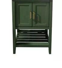 "Legion Furniture 24"" Vogue Green For Sink Bathroom Green Cabinet Only No Vanity"
