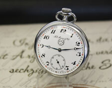Rare HY MOSER & Cie ( PW 25 ) Taschenuhr pocket watch 15 Rubis
