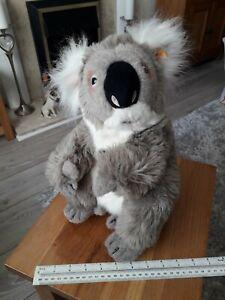 Rare Large Steiff Koala Bear. No. 060816