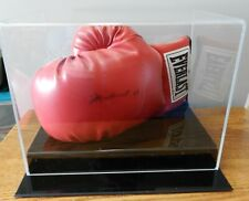 Muhammad Ali Signed Autographed Everlast Boxing Glove w/COA and display case