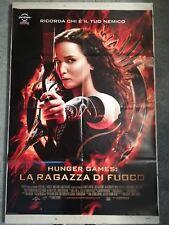 HUNGER GAMES RAGAZZA FUOCO Manifesto Film 2F Poster Originale Cinema 100x140