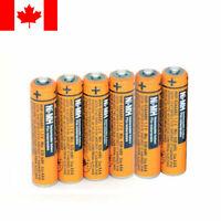 Panasonic Cordless Phone NI-MH AAA 1.2V Rechargeable Battery HHR630mAh Batteries