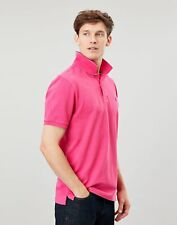 Joules Mens Woody Classic Fit Polo Shirt - Bright Pink