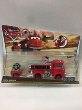 Disney Cars Road Trip Series Red With Wagon Rare Collection Gift Toy