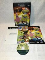 SpongeBob SquarePants Movie (Nintendo GameCube, 2004) Complete Game Case Manual