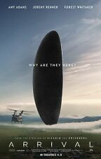 ARRIVAL MOVIE POSTER - DIFFERENT SIZES - FREE UK POSTAGE - (1) ALIEN/SPACE