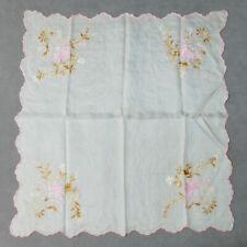 f9299fe7a195 Floral 100% Silk Vintage Plain   Solid Handkerchiefs for sale