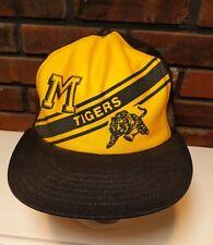 9bf513b7001ba University of Missouri Tigers Football Mizzou Baseball Mesh Trucker Hat Cap  VTG