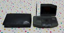 More details for citizen lcd tv t530 mini television and radio * vintage* with case
