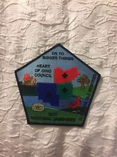 Mint 2017 National Jamboree Backpatch Heart Of Ohio Council