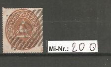 Altdeutschland Braunschweig Mi-Nr.: 20 sauber gestempelter Wert