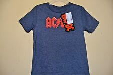 AC/DC ICONIC ROCK BAND-BOYS  SIZE 3T-CHILDREN'S PLACE-LICENSED SHORT SLEEVE-NWT