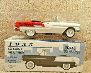Racing Champions 1:25 1955 Chevy Convertible Bank NC Motor Speedway Rockingham