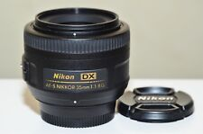 Nikon NIKKOR 35mm f/1.8G AF-S  DX Lens  ***** NEW ***** US Model