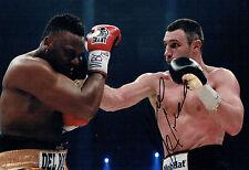 Vitali KLITSCHKO Champion Boxer Signed 12x8 Photo B AFTAL COA Boxing Dr Ironfist