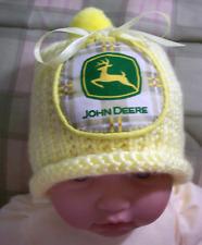 Handmade Knit Baby Deer Hat