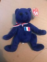 Ty Beanie Babies - 'Mascotte' the Bear (2006) - New with Tag + Protector.