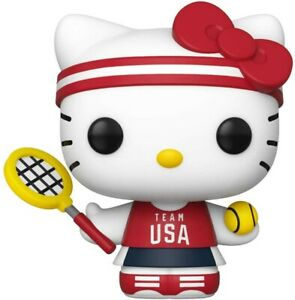 Funko - POP Sanrio: Hello Kitty Sports- Tennis Hello Kitty Brand New In Box