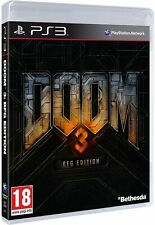 Doom 3 BFG Edition Playstation 3 PS3 EXCELLENT Condition FAST Dispatch