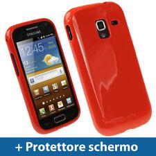 Custodie preformate/Copertine rossi per Samsung Galaxy Ace 2