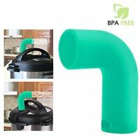 Steam Release Diverter Exhaust Pipe Tube for Instant Pot Protect Cabinets Green