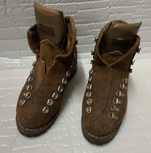 Asolo Sport Hiking Boots Vibram Soles Size 38