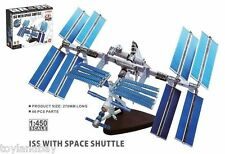 NASA 26382 International Space Station Soyuz & Shuttle 1:450 Scale Model New