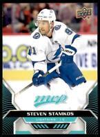 2020-21 UD MVP Base SP #219 Steven Stamkos - Tampa Bay Lightning