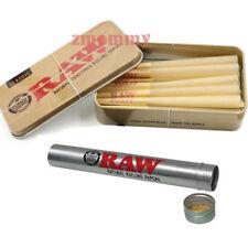 15 Raw King Size Cones plus Free Raw Tin With Raw Storage Tube