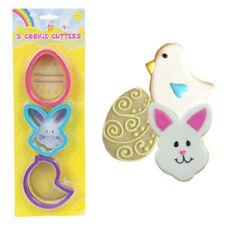 Cortadores de galletas animales de plástico