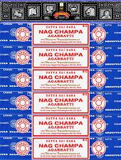 15g Super Hit Incense & 90g Nag Champa 7 Boxes 15 Grams per Box