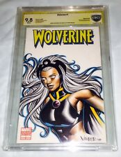 WOLVERINE 1 BLANK COVER ORIGINAL 1of1 ARTIST PROOF SKETCH BY JOSE VARESE