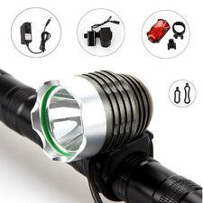 6000LM CREE XM-L U2 LED frente bicicleta Luz bici Linterna Foco Cabeza lámpara