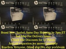 New!!HP Color LaserJet Pro M477fdw All-in-One Laser Printer Part #CF379A NO TAX