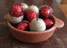 Handmade Fall Acorns Bowl Filler Set of 8