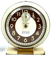 TESTED Works Vintage Beautiful Westclox Big Ben Clock Model 1A 69-C Loud Alarm