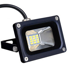 LED 10W Flood Outdoor Wash Light Waterproof COB High Power Floodlight Warm White