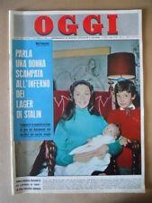 OGGI n°9 1963 Anna Maria Pierangeli Servizio su Greta Garbo [G790]