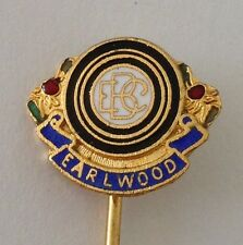 Earlwood Bowling Club Pin Badge Lawn Bowls Rare (L11)