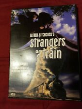 Alfred Hitchcock dvd. Strangers on a train, classic drama.